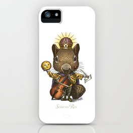 King of Squirrels iPhone Case