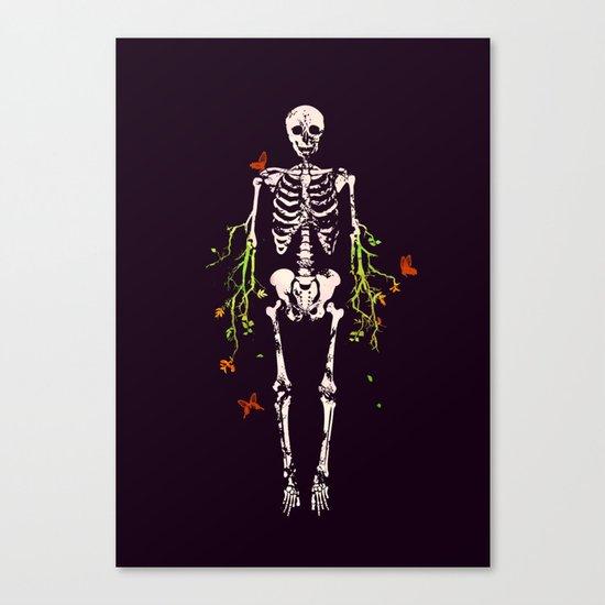 Dead is dead Canvas Print
