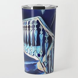 Eerie Paranormal Staircase Travel Mug