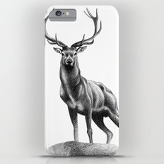 All Muscle - Red Deer Stag Slim Case iPhone 6 Plus
