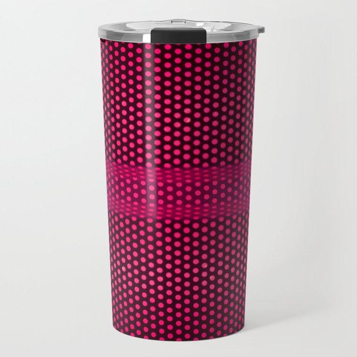 PINK MESH Travel Mug