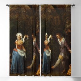 """Antoine Watteau """"The Country Dance"""" Blackout Curtain"""