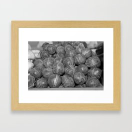 Brussel Sprouts Framed Art Print