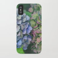 hydrangea iPhone & iPod Cases featuring hydrangea by EnglishRose23