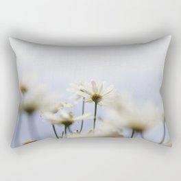 Flors blanques Rectangular Pillow