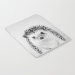 Hedgehog - Black & White Notebook