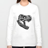 t rex Long Sleeve T-shirts featuring T Rex by Sascha Selli