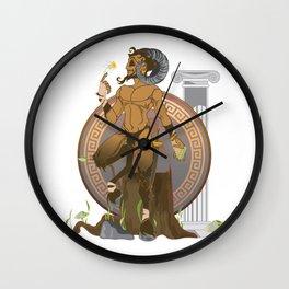 Pan Wall Clock