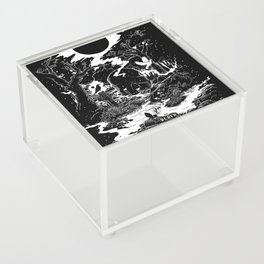 XIII - Death Card (Shadow Light Tarot) Acrylic Box