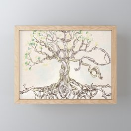 Rooted Framed Mini Art Print