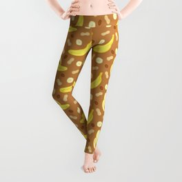 Peanut Butter & Banana Smoothie Leggings