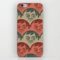 it crowd iPhone & iPod Skins featuring CROWD by Renato Klieger Gennari