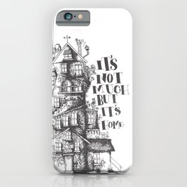 a humble residence iPhone Case