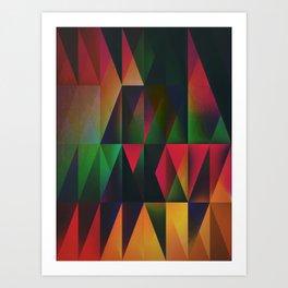 rytwyl lyyts Art Print