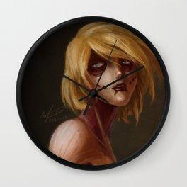 Lioness Wall Clock
