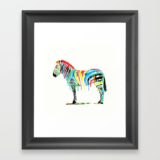 Fresh Paint Framed Art Print