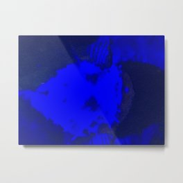 blue sea Metal Print