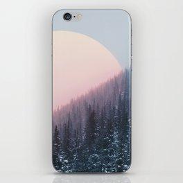 Peach Sunrise iPhone Skin