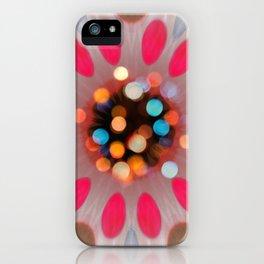Bubble Gum Bright Colors Flower Desig iPhone Case