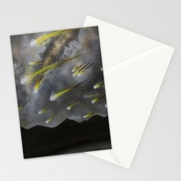 Meteors in the Sky Stationery Cards