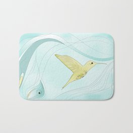Humming bird Bath Mat
