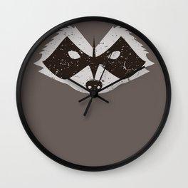 Rocket Raccoon - Log Trap Wall Clock