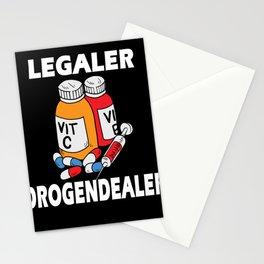 Pharmacist Legal Drug Dealer Pharmacy Stationery Cards