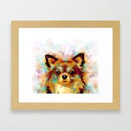 Dog 141 Chihuahua Framed Art Print