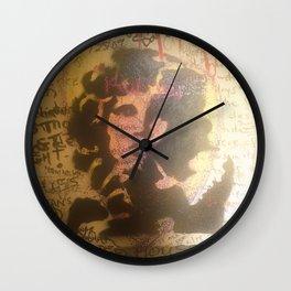 The Doors Morrison Graffiti Room 32 Wall Clock