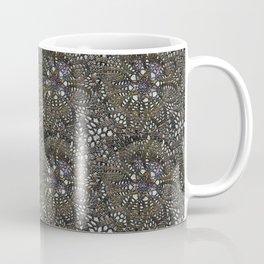 Black needlework with color Coffee Mug