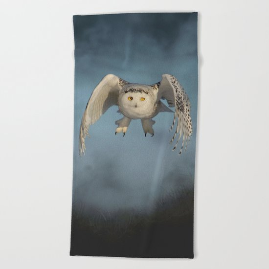 From the mist cometh mystery Beach Towel