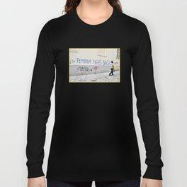 Feminism fights back Long Sleeve T-shirt