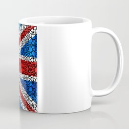 British Flag - Brittain England Stone Rock'd Art Coffee Mug