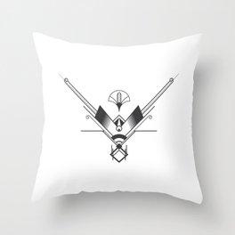 Art Deco Geometry Throw Pillow