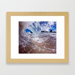 Crystal Cylinder #2 Framed Art Print