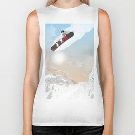 snowboarder Biker Tank