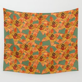 Lilies Wall Tapestry