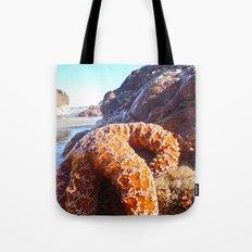 Sun Bathing Tote Bag