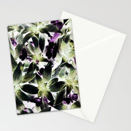 TROPICAL LEAVES Stationery Cards