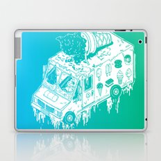 Melty Ice Cream Truck - Mint Laptop & iPad Skin