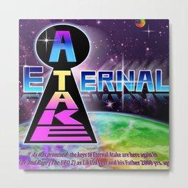 Lil Uzi Vert - Eternal Atake Metal Print