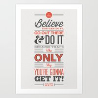 Do You Believe! Art Print