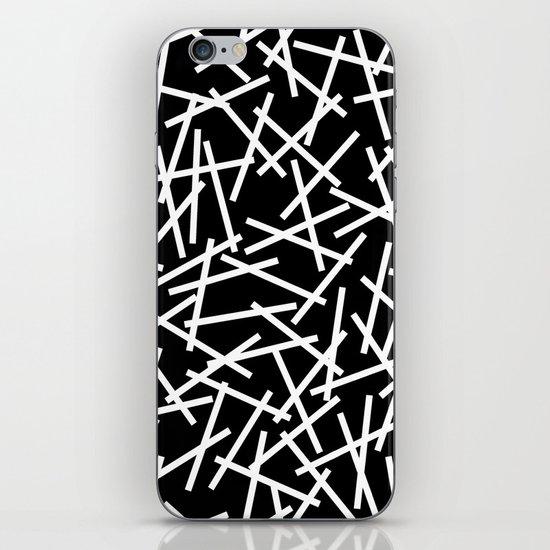 Kerplunk Black and White iPhone Skin