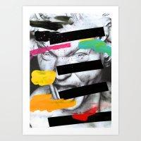 Composition 470 Art Print