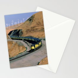Chicago & Northwestern Train Stationery Cards