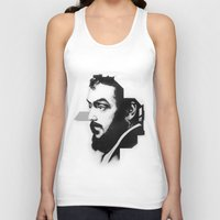 kubrick Tank Tops featuring STANLEY KUBRICK by A. Dee