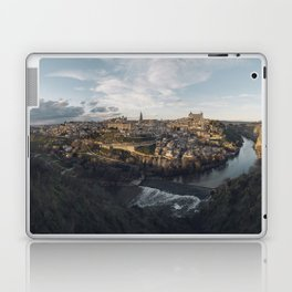 Toledo at sunset Laptop & iPad Skin