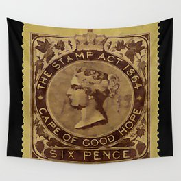 Tax Stamp 1864 - 019 Wall Tapestry