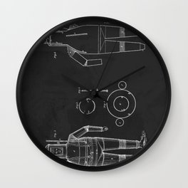 Scuba Diving Suit Patent 1838 Wall Clock