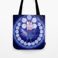 eric fan Tote Bags featuring Eric by NicoleGrahamART